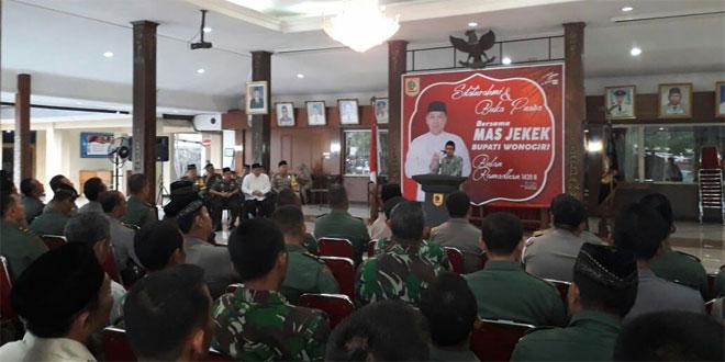 Bangun Sinergitas Pemkab Wonogiri Gelar Buka Bersama TNI-Polri