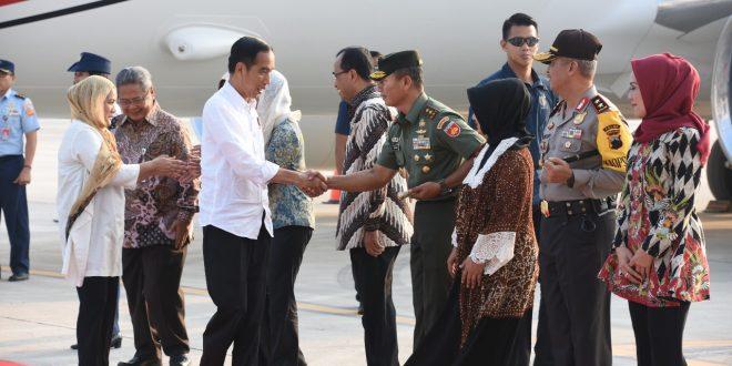 """Presiden Resmikan Bandara """"Apung"""" Ahmad Yani di Semarang"""