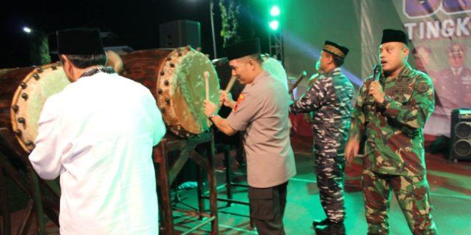 Dandim 0703/Cilacap Sambut Hari Raya Idul Fitri 1439 H Dengan Festival Tabuh Bedug