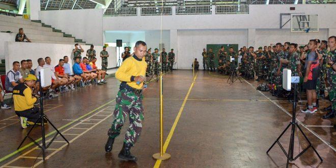 Prajurit Kodam IV/Diponegoro Dikenalkan RFID dari Disjasad