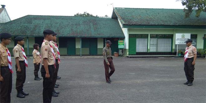 Latihan Rutin Saka Wira Kartika Kodim 0701/Banyumas