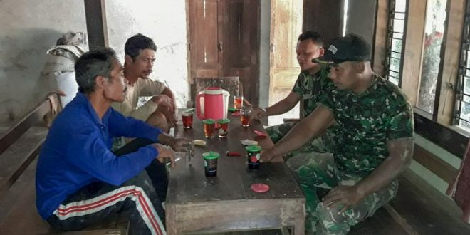 Kemanunggalan TNI Rakyat Itu Sampai Ke Hati