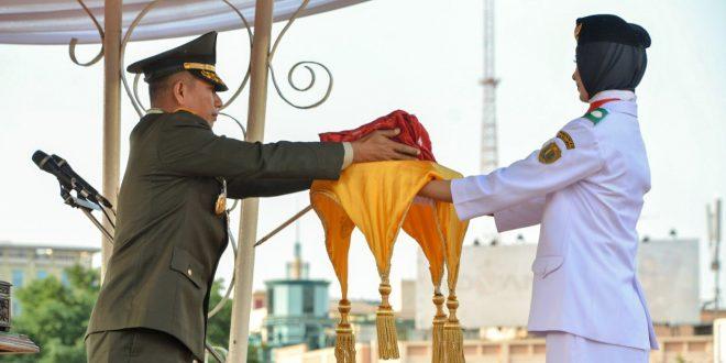 Pangdam IV Irup Penurunan Bendera