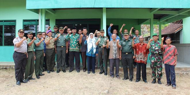 Asrendam IV/Diponegoro : Keberadaan Pos Koramil Untuk Kemajuan Dan Kemakmuran Masyarakat