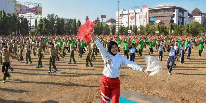 Pemecahan Rekor MURI Tari Gemu Famire, 8.000 Orang Padati Simpanglima