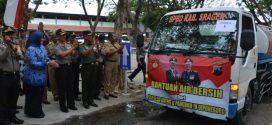 5 Kecamatan Di Sragen Dapat Bantuan Air Bersih Dari Pangdam dan Kapolda